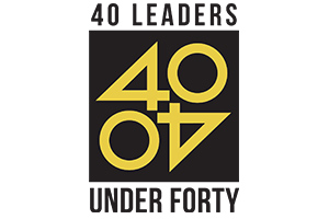 40 Leaders Under Forty Logo