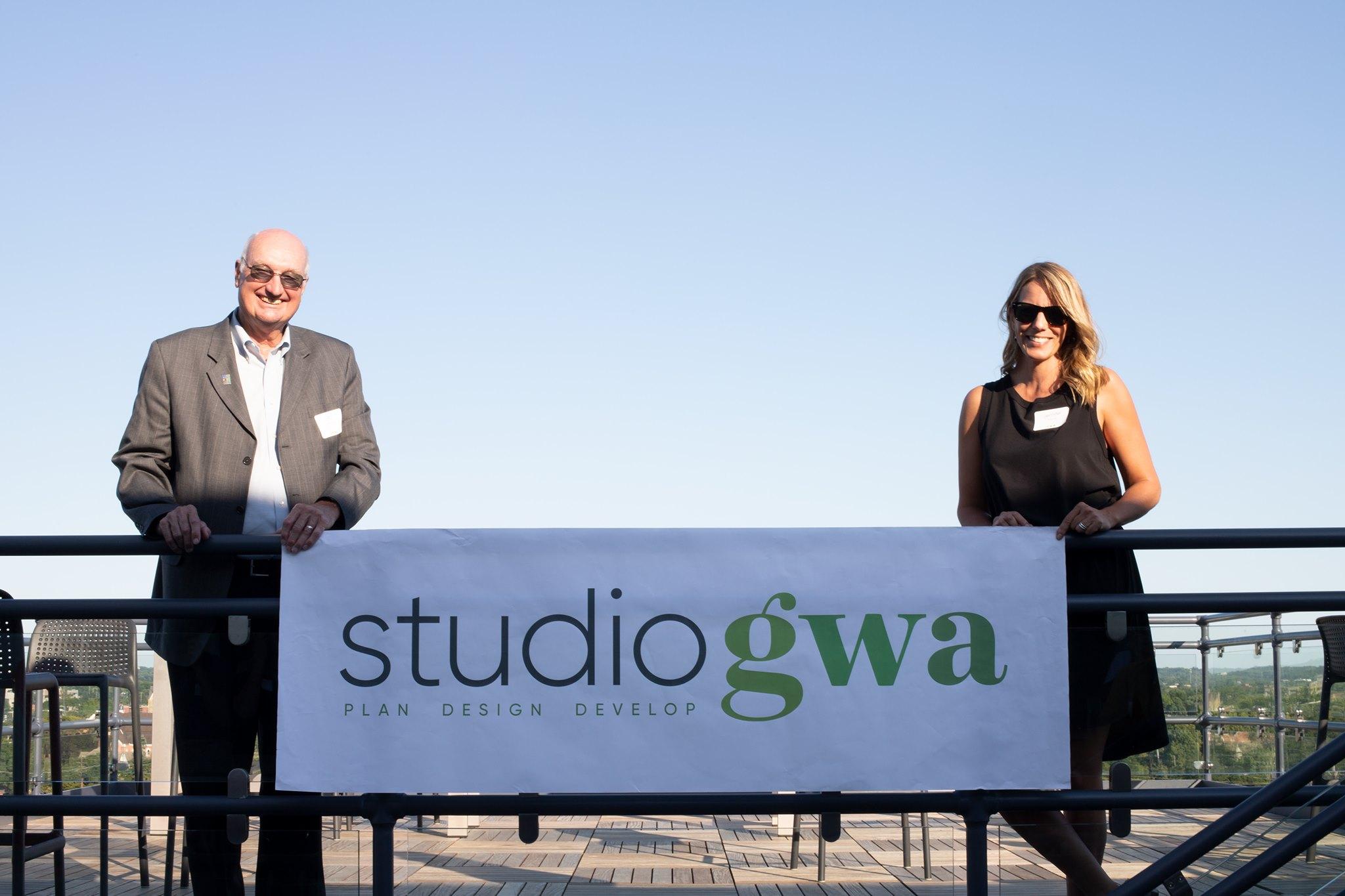 Jen Shelton and Gary Anderson with new Studio GWA brand