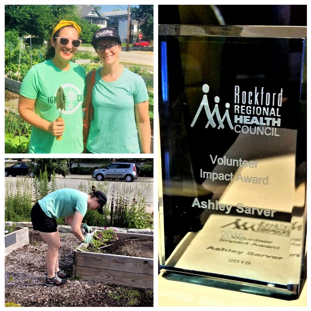 Ashley Sarver - Volunteer Impact Award