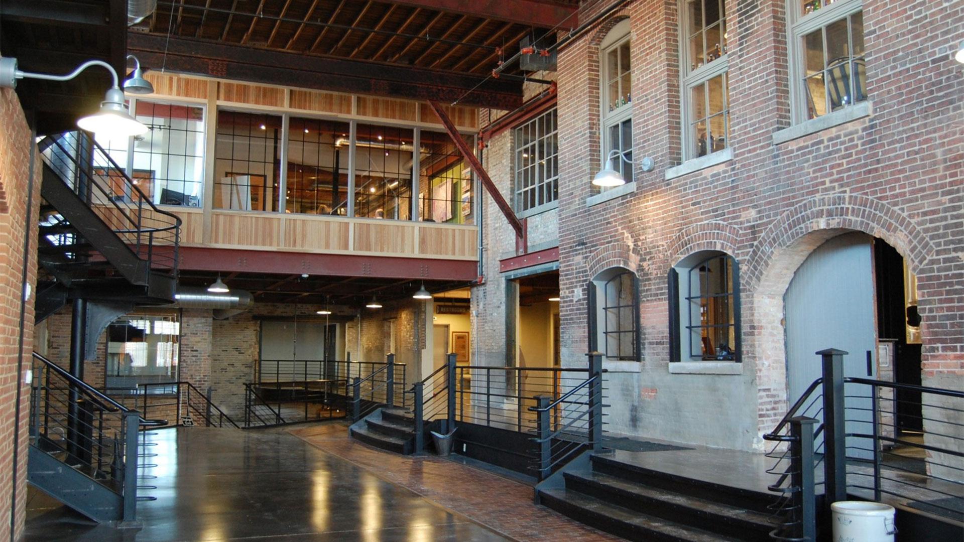 Historic preservation - Prairie Street Brewhouse interior
