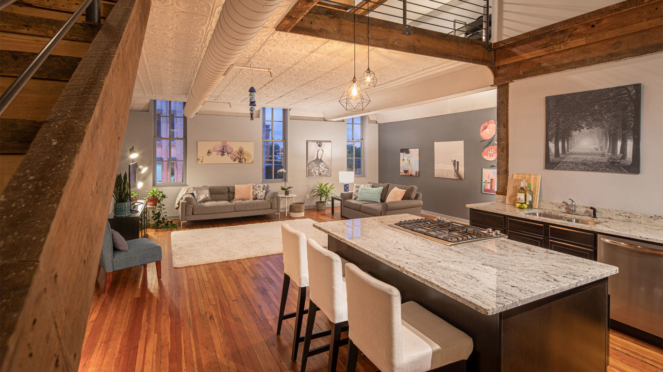 Interior - Metropolitan Hall Lofts