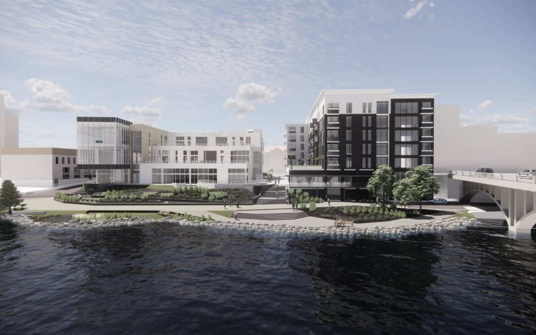 Library Lofts Will Bring 107 New Residential Units to Rockford's Riverfront