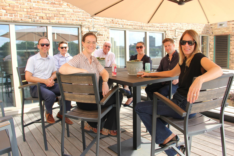 Image of Studio GWA staff on a patio